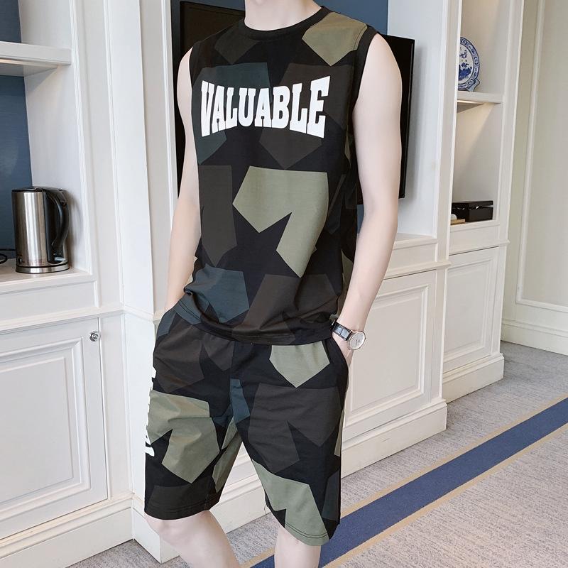 Bộ đồ áo thun thể thao họa tiết rằn ri độc đáo cá tính