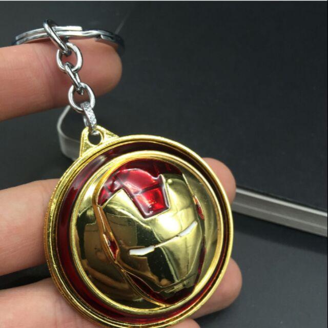 Móc khóa khiên Iron Man