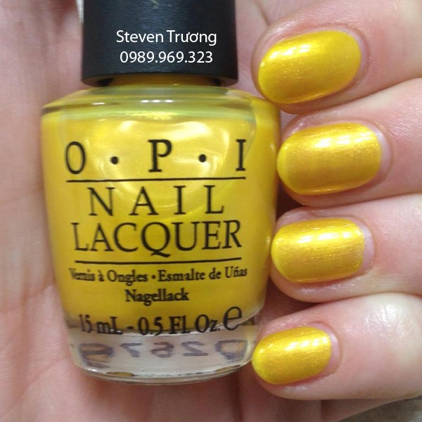 Sơn OPI - Mã số D22 (Lemonade Stand By Your Man)