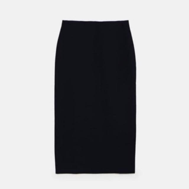 Chân váy bút chì màu đen HM (auth) newtag size xs