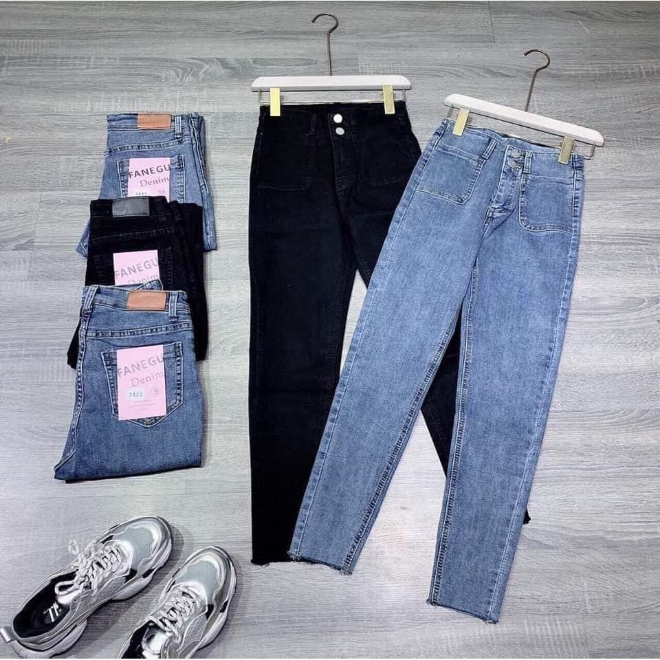 quần jean 2 cúc