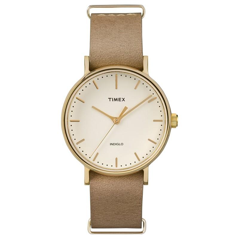 Đồng hồ unisex Timex Weekender Fairfield TW2P98400 màu vàng