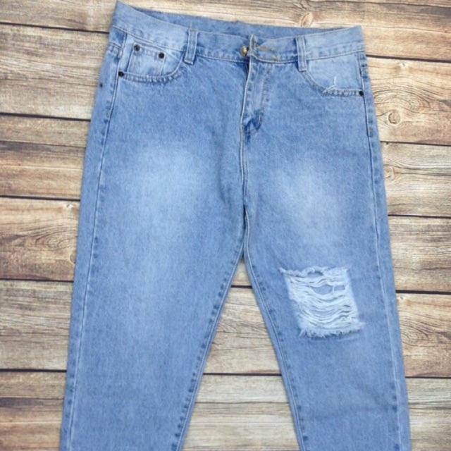 Quần jean dành cho những cô nang ngoại cỡ