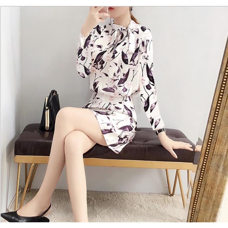 Set Áo Thun Ngắn Tay + Chân Váy Hoa Xinh Xắn Theo Phong Cách Hàn Quốc 2020 Dành Cho Nữ