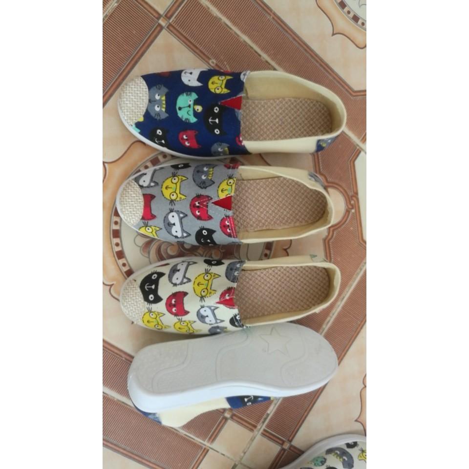 combo 3 đôi giày lười