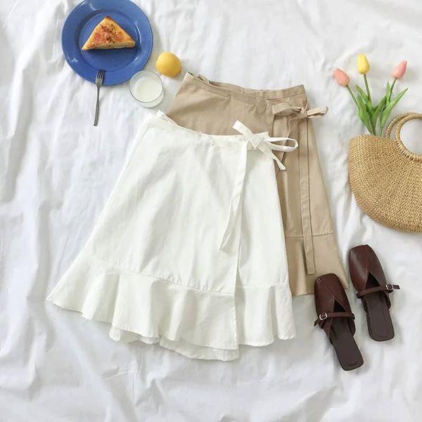 Chân váy vải thô