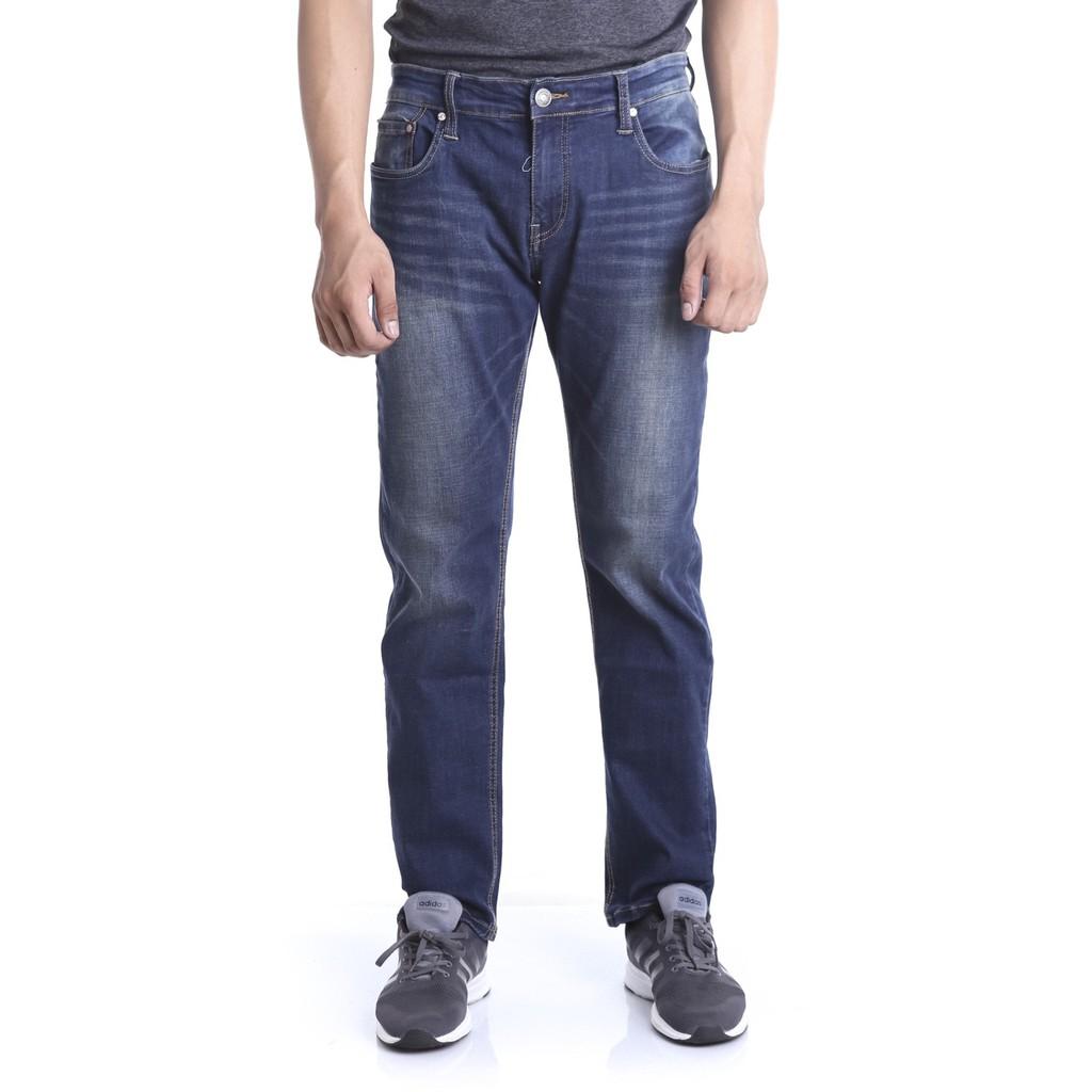 Quần jean dài nam ống đứng