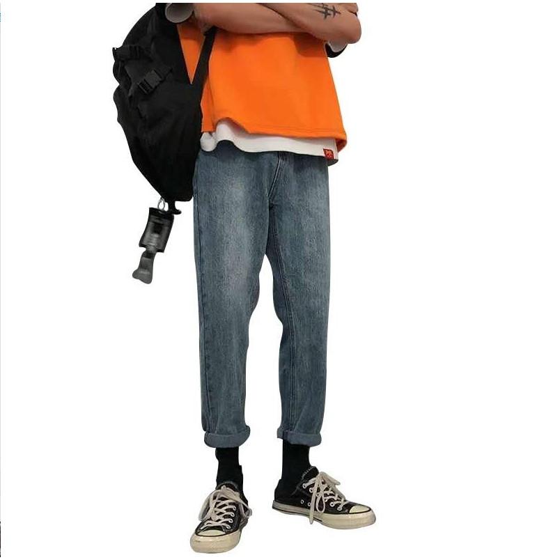 Quần jeans ống rộng thời trang cá tính
