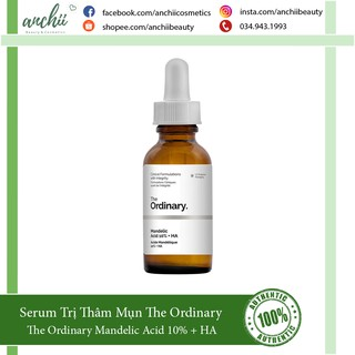 Serum Trị Thâm Mụn The Ordinary Mandelic Acid 10% + HA