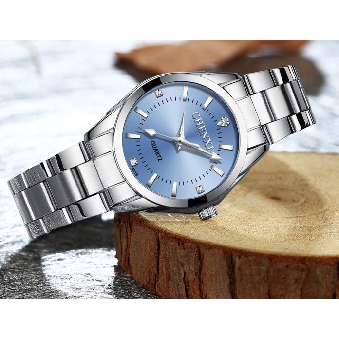 Đồng hồ Chenxi nữ màu xanh