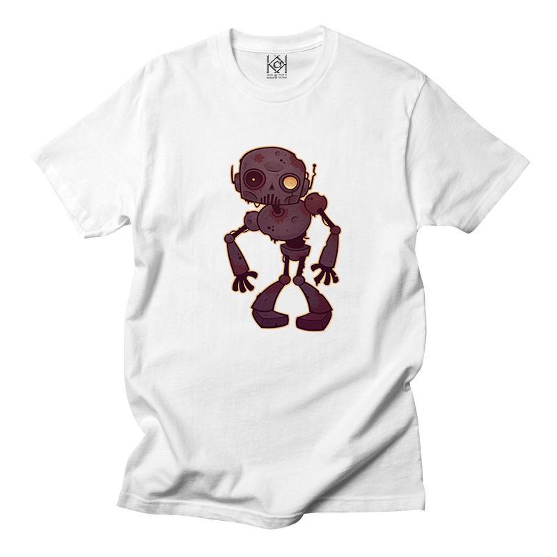 Áo thun movie in hình Robot cũ cực đẹp , áo thun unisex nam nữ - Thiết kế độc quyền KAK