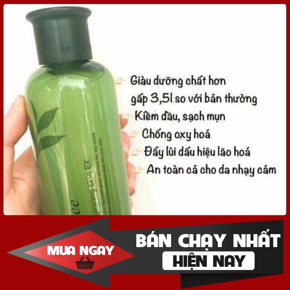 [TỐT NHẤT] Nước Hoa Hồng Trà Xanh Innisfree Green Tea Balancing Skin EX 200ml – 3540984358