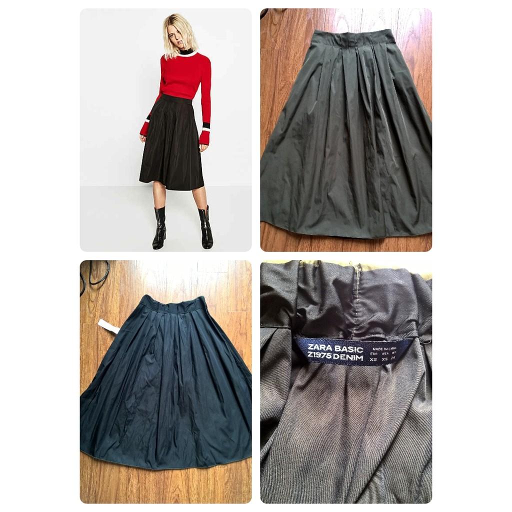 Chân váy 2 mặt Zara