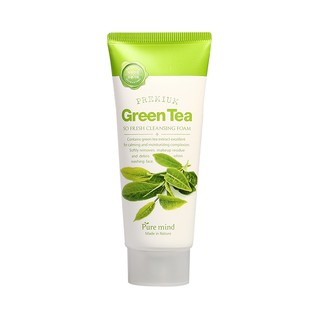 Sữa rửa mặt Trà Xanh Pure Mind Green Tea So Fresh Cleansing Foam 100ml