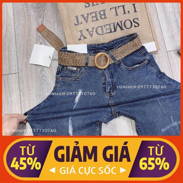[ Rẻ Vô Địch ] Nhập WAPCK10 giảm 25k đơn từ 150k - Quần jeans boy dáng ôm màu đậm thời trang nem