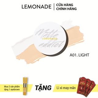 Phấn nước LEMONADE Matte Addict Dual Cushion 16g