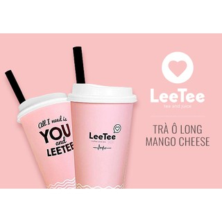 [Voucher] Trà ô long mango cheese