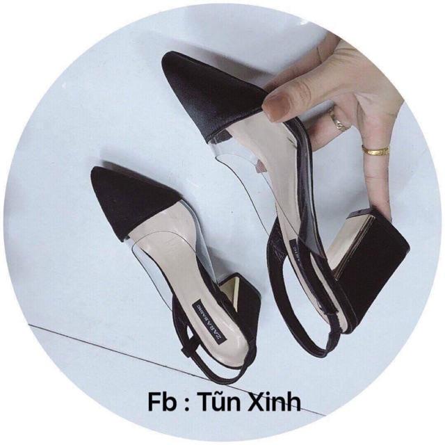 giày gót cao mk