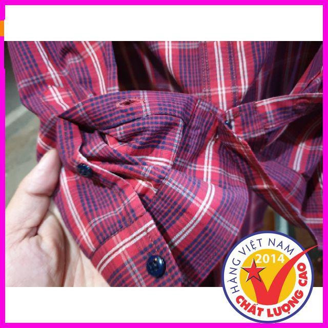 [ Sale 50% ] Sơ mi karo sọc đỏ áo thun mùa hè,áo đi chơi,áo thun in hình đẹp,áo thun nam cao cấp