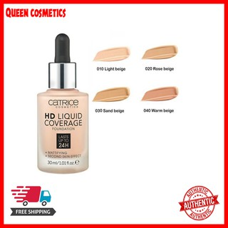có bill KEM NỀN CATRICE HD LIQUID COVERAGE FOUNDATION
