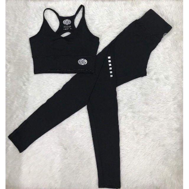 Set bộ đồ thể thao tập gym nữ