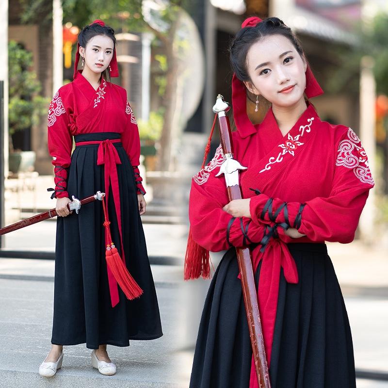 đầm nữ dài tay cổ tròn thời trang hàn