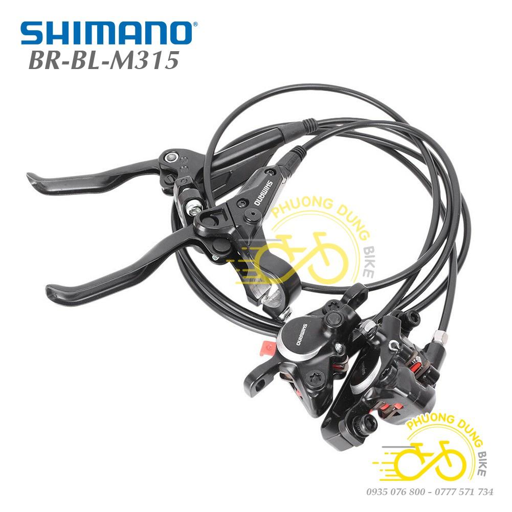 Phanh dầu xe đạp Shimano Altus M315 - Hàng chính Hãng