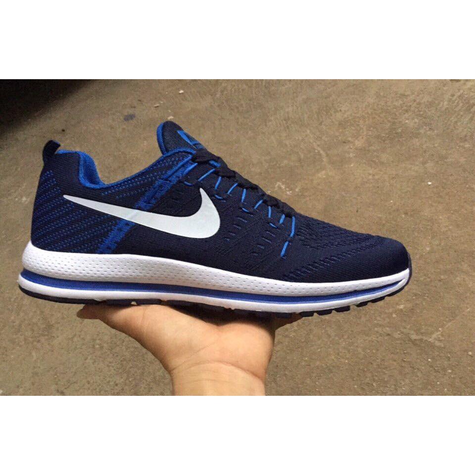 Giày thể thao N.ZOOM 2017 màu đen xanh dương