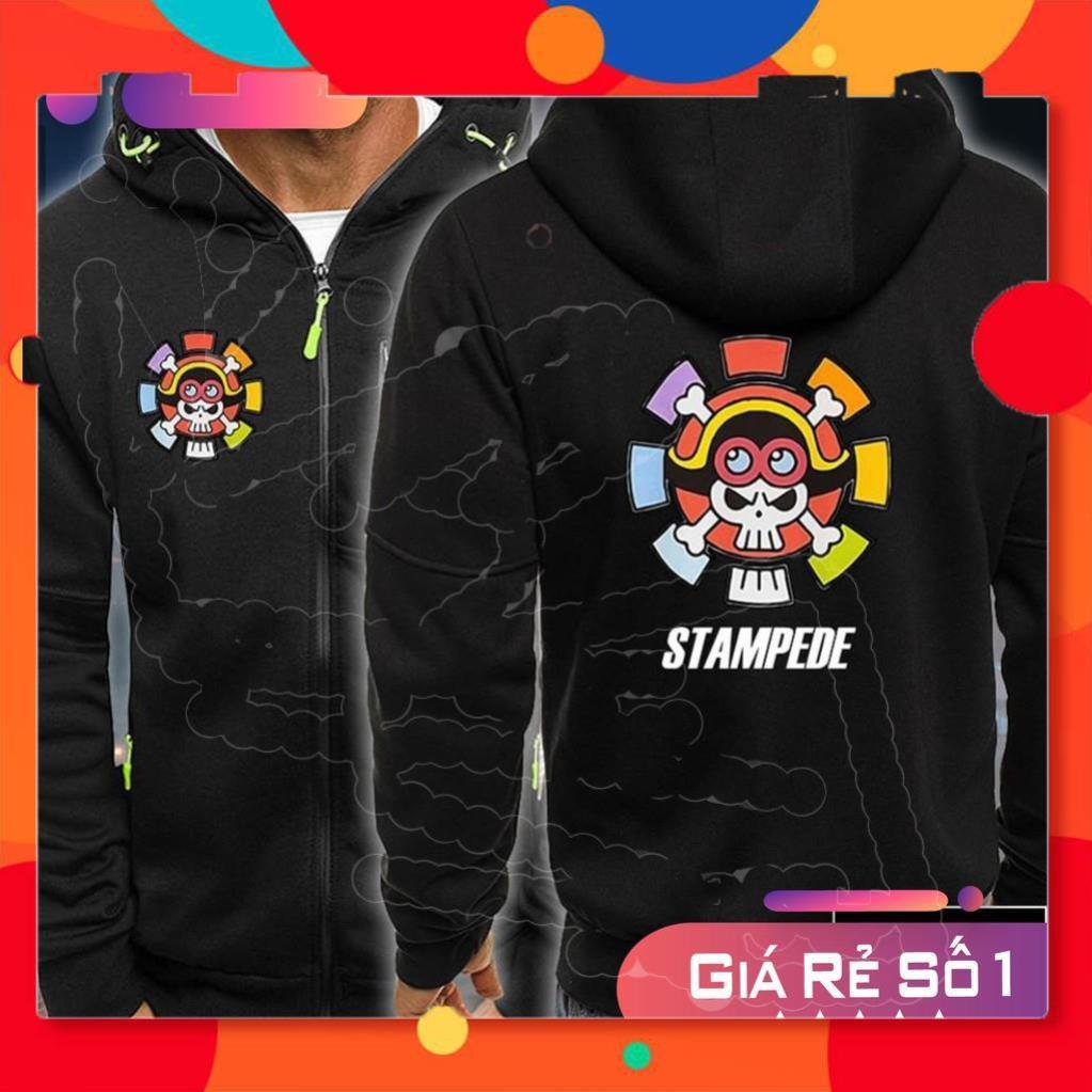 ⚡MẪU MỚI⚡ [SIÊU PHẨM] Top 2 mẫu áo khoác One Piece Stampede được yêu thích, giá rẻ nhất