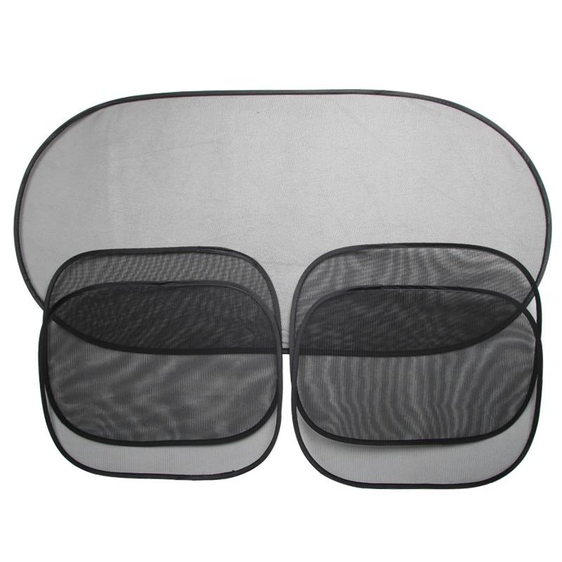 Bộ 5 tấm che nắng cửa sổ, kính sau ô tô tiện lợi