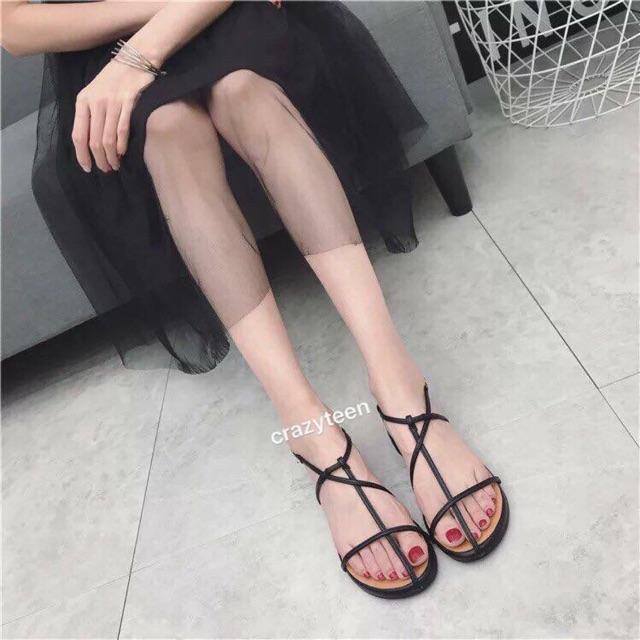 Sandal dây dáng bệt hàng đẹp (kèm ảnh thật cuối)