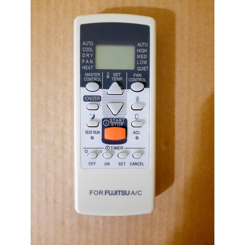 Điều khiển điều hòa Fujitsu các dòng Fujitsu ASAA ASAG 9000BTU 12000BTU 18000BTU - Hàng tốt 100% Tặng kèm Pin!!!