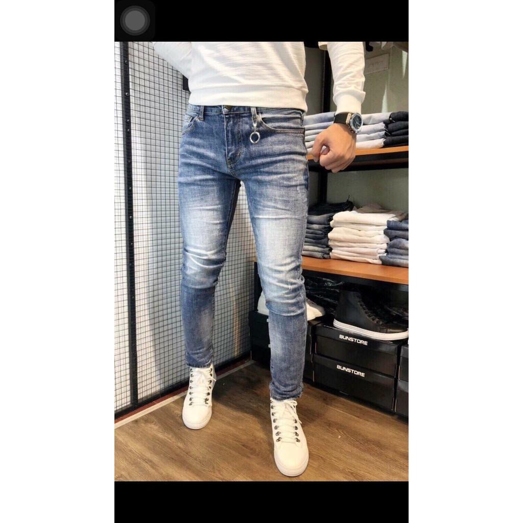 quần jean nam mẫu mới hot 2019
