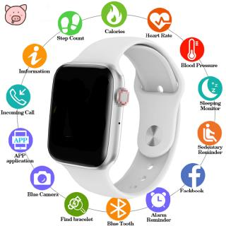 Men Women W34 Bluetooth Call Smart Watch ECG Heart Rate Monitor Smartwatch for Android iPhone