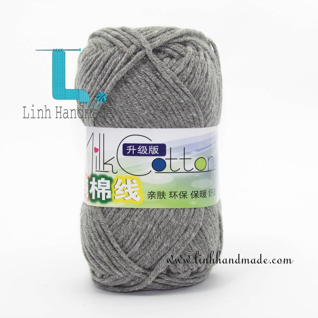 Cuộn Len Cotton Milk 50gr 5