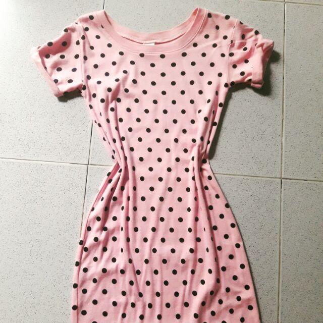 váy ngủ chấm bi (đầm tặng khách hóa đơn trên 200k)