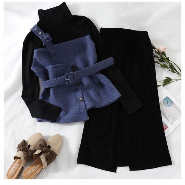 [SALE SẬP SÀN] Sét đầm len, áo pha hàng Quảng Châu