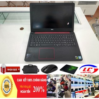 Laptop DELL N7559 CORE i5 6300HQ RAM 8G SSD128+ HDD 1TB VGA GTX960 4G MÀn 15,6 FHD Laptop Cũ Chơi Game gaming