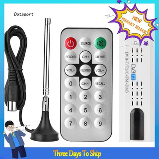 Dota_USB 2.0 Digital DVB-T/T2 SDR+DAB+FM HDTV TV Tuner Receiver Stick SG Accessory