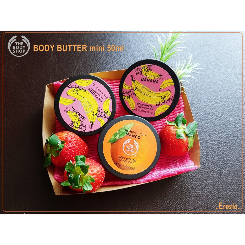 Bơ dưỡng thể mini 50ml Body butter The Body Shop