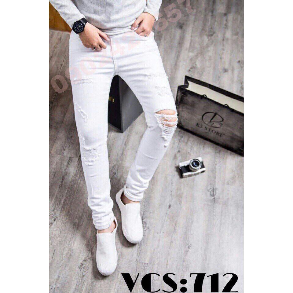 [Hot Sale 119k] Quần Jean Nam Cao Cấp JN712