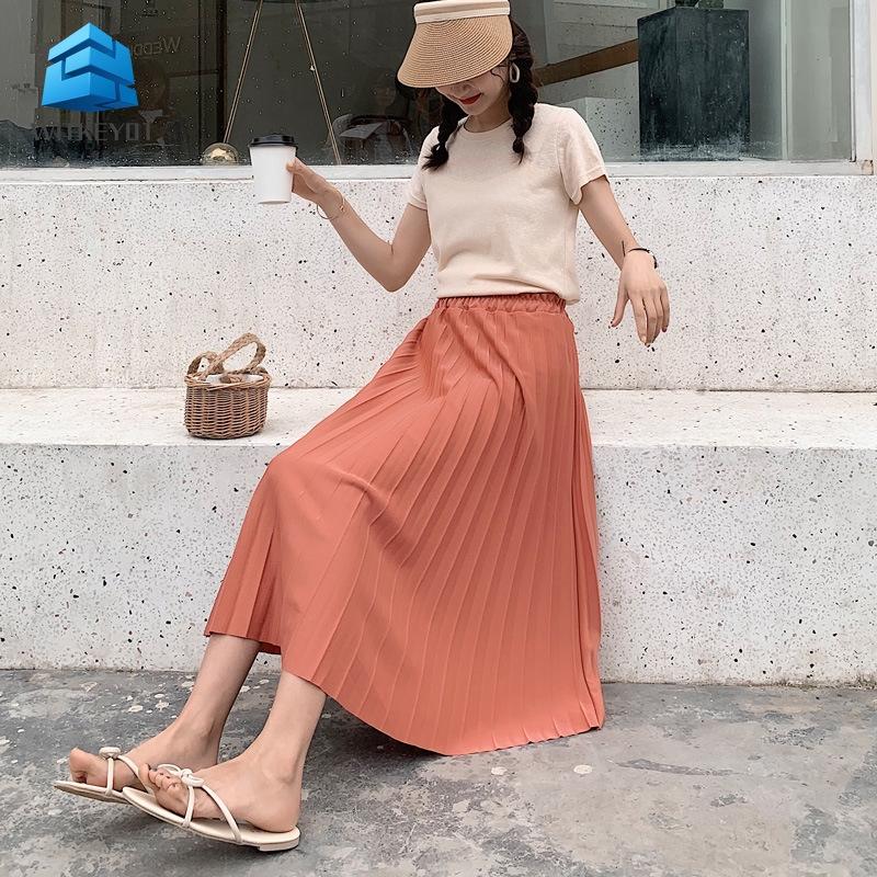 ( Shop Amart ) Chân váy chữ A xếp li cho nữ
