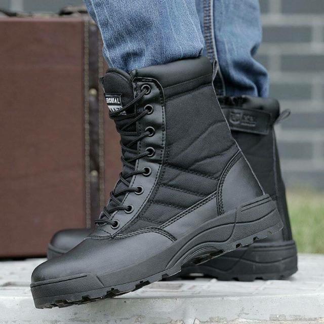 Giày SWAT cao cổ Full hộp ✔️ đầy đủ, Hàng xịn Chất luôn