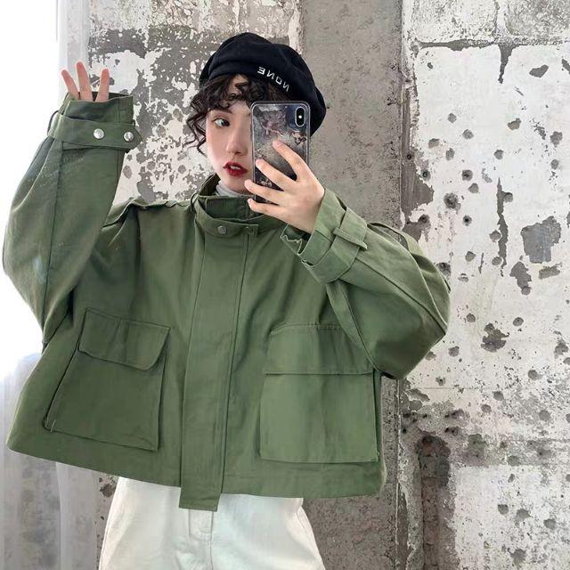 (Order) áo khoác kaki Quảng Châu