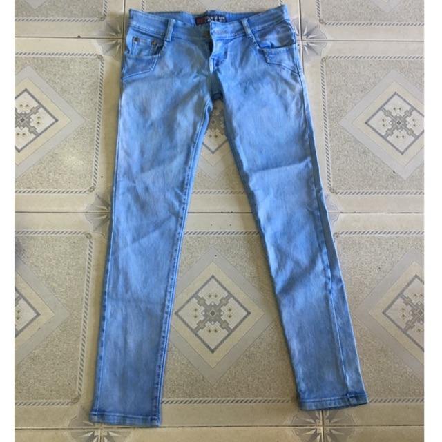Thanh lý quần jean size 30