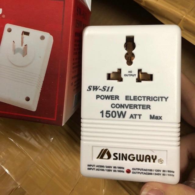 Bộ đổi nguồn 2 chiều singway 220V <-> 110V 150W