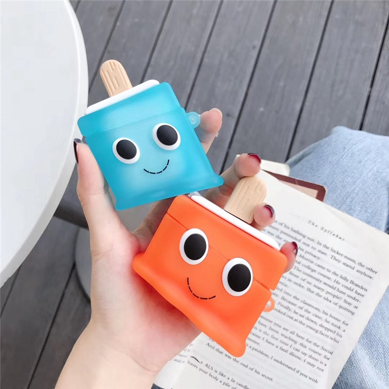 Airpods Pro Cover Delicious Cold Popsicle AirPods 1/2/3 Silicone Protective Case