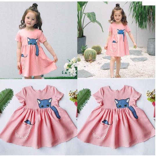 Combo 600 áo dài cách tân cho bé gái