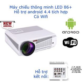 Máy chiếu Android Led 86 Plus cao cấp - The Royal's