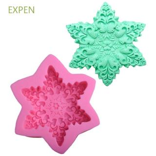 Hình ảnh EXPEN Sugarcraft Tool Cooking Fondant Mould Chocolate Silicone Mold